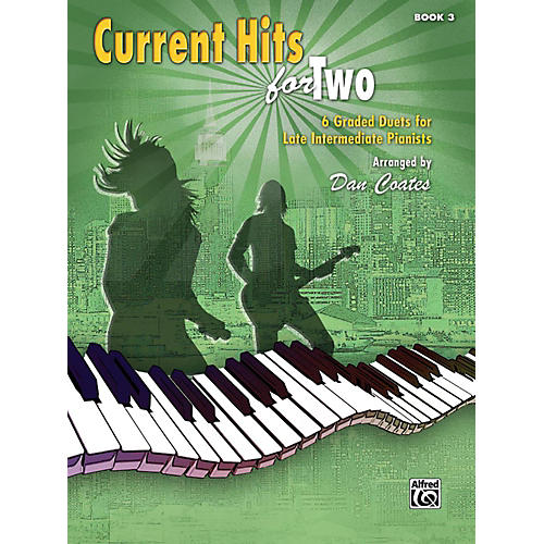 Alfred Current Hits for Two, Book 3 Late Intermediate-thumbnail