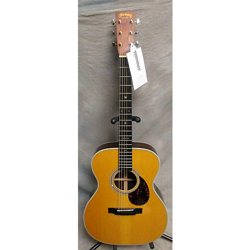 Martin Custom 00014F NAMM 2014 Cocobolo Acoustic Guitar-thumbnail