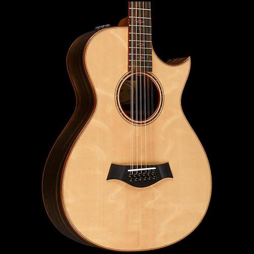 taylor custom 10083 12 fret 12 string grand concert acoustic electric guitar natural guitar. Black Bedroom Furniture Sets. Home Design Ideas