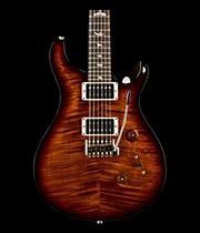 Custom 24 Carved Flame Maple 10 Top with Nickel Hardware Solidbody Electric Guitar