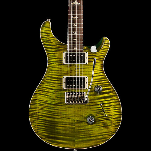 PRS Custom 24 Carved Flame Maple 10 Top with Nickel Hardware Solidbody Electric Guitar-thumbnail