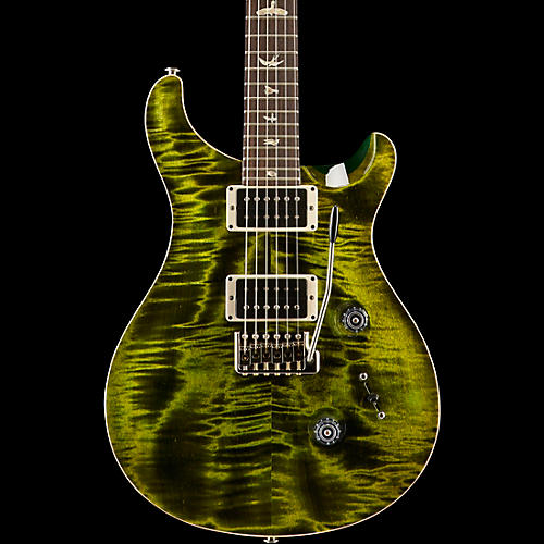 PRS Custom 24 Carved Flame Maple Top with Nickel Hardware Electric Guitar Jade