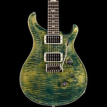Custom 24 Carved Flame Maple Top with Nickel Hardware Electric Guitar Leprechaun Tooth