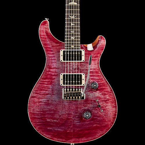 PRS Custom 24 Carved Flame Maple Top with Nickel Hardware Electric Guitar Violet