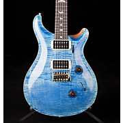 Custom 24 Flame Top Electric Guitar with Pattern/Thin Neck