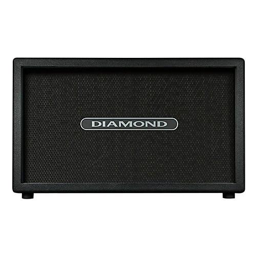 Diamond Amplification Custom 2x12 60W 16 Ohm Guitar Cab Black Black Cloth Grill