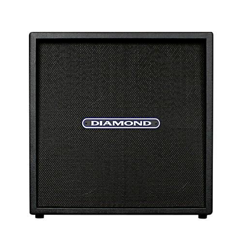 Diamond Amplification Custom 4x12 120W 8 Ohm Guitar Cab Black Black Cloth Grill