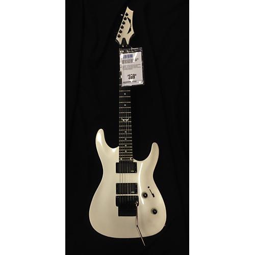 Dean Custom 550 Floyd Rose Solid Body Electric Guitar metallic white
