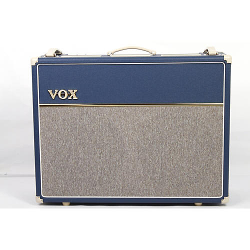 Vox Custom AC30C2-BL 30W 2x12 Limited Edition Blue Tube Guitar Combo Amp