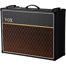 Vox Custom AC30C2X 30W 2x12 Tube Guitar Combo Amp Level 1 Black