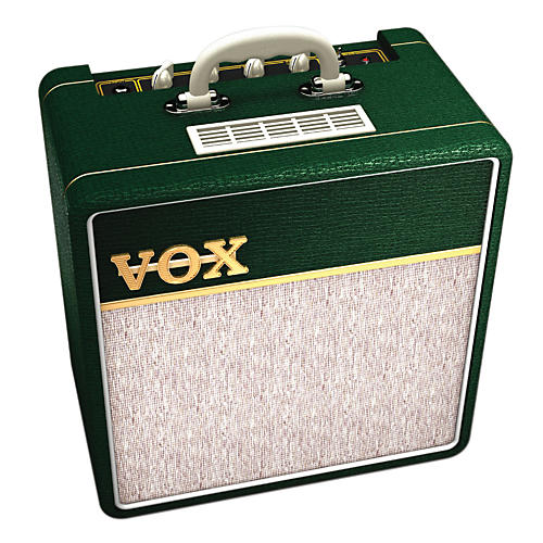 Vox Custom AC4C 4W Tube Guitar Combo Amp British Racing Green