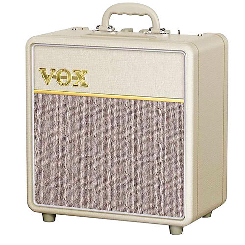 Vox Custom AC4C1 4W 1x10 Tube Guitar Combo Cream