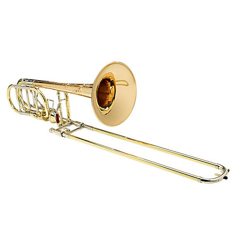 S.E. SHIRES Custom BI 2RM Bass Trombone with Axial-Flow F/Gb Attachment-thumbnail
