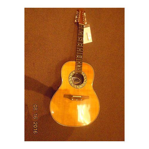 Ovation Custom Balladeer 1755 12 String Acoustic Electric Guitar-thumbnail