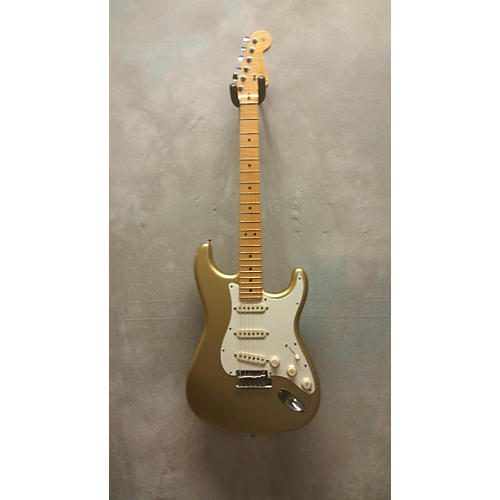 Fender Custom Classic Stratocaster Aztec Gold Solid Body Electric Guitar-thumbnail