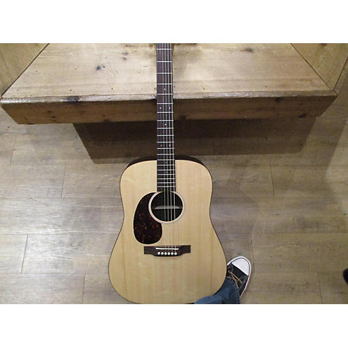 Martin Custom D Left Handed Acoustic Electric Guitar-thumbnail