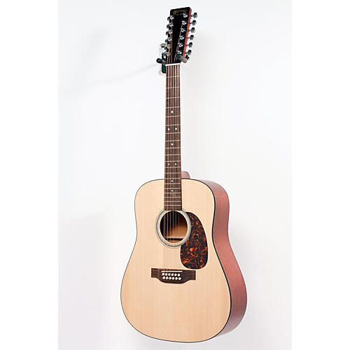 Martin Custom D12GTM 12-String Dreadnought Acoustic Guitar Natural 886830977510