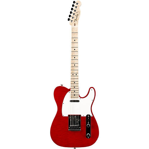 Fender Custom Shop Custom Deluxe Telecaster Electric Guitar with Maple Fingerboard-thumbnail