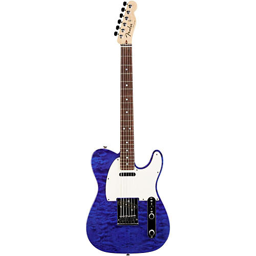 Fender Custom Shop Custom Deluxe Telecaster Electric Guitar with Rosewood Fingerboard-thumbnail