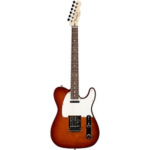 Fender Custom Shop Custom Deluxe Telecaster Electric Guitar with Rosewood F...