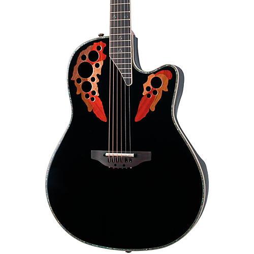 Ovation Custom Elite C2078 AX Deep Contour Acoustic-Electric Guitar