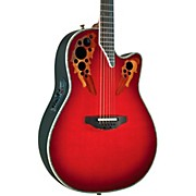 Ovation Custom Elite C2078 AX Deep Contour Acoustic-Electric Guitar