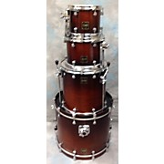GMS Custom Exotic Woods Drum Kit