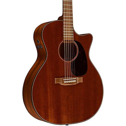 martin custom gpc15m acoustic electric guitar mahogany guitar center. Black Bedroom Furniture Sets. Home Design Ideas