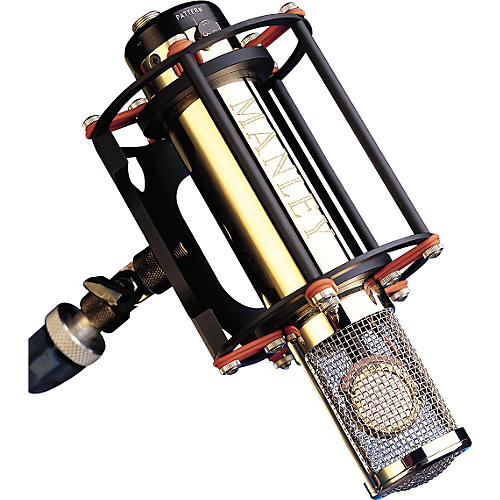 Manley Custom Gold Reference Multi-pattern Microphone with Preamp-thumbnail