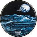 Remo Custom Graphic Blue Moon Resonant Bass Drum Head  22 in.Thumbnail
