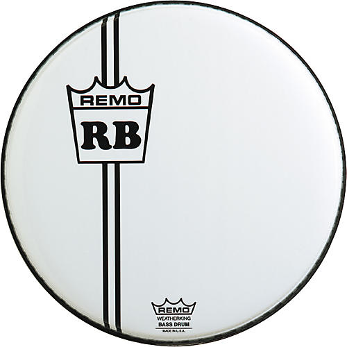 remo custom graphic vintage crown resonant bass drum 24 in guitar center. Black Bedroom Furniture Sets. Home Design Ideas