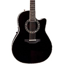 Custom Legend C2079 AX Deep Contour Acoustic-Electric Guitar Black