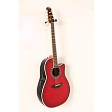 Ovation Custom Legend C2079 AX Deep Contour Acoustic-Electric Guitar Level 2 Cherry Cherry Burst 888366058404