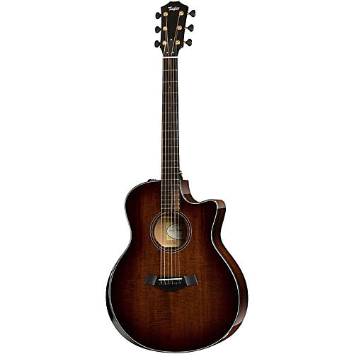 Taylor Custom Mahogany Grand Symphony Acoustic-Electric Guitar Shaded Edge Burst