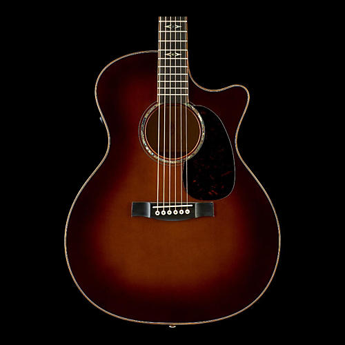 Martin Custom Performing Artist GPCPA1 Birdseye Maple Grand Performance Acoustic-Electric Guitar-thumbnail