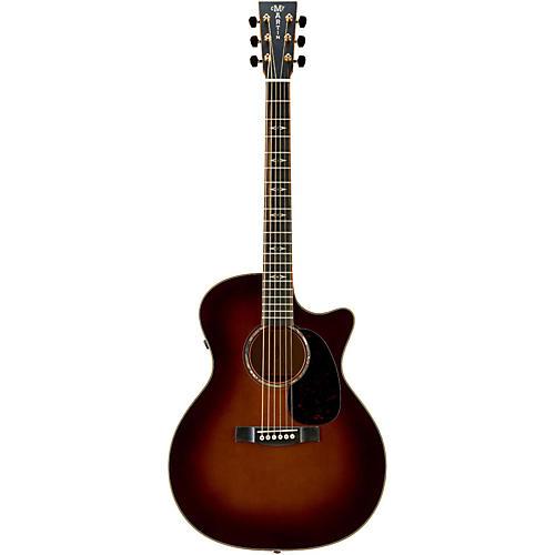 Martin Custom Performing Artist GPCPA1 Birdseye Maple Grand Performance Acoustic-Electric Guitar 1933 Amber Sunburst