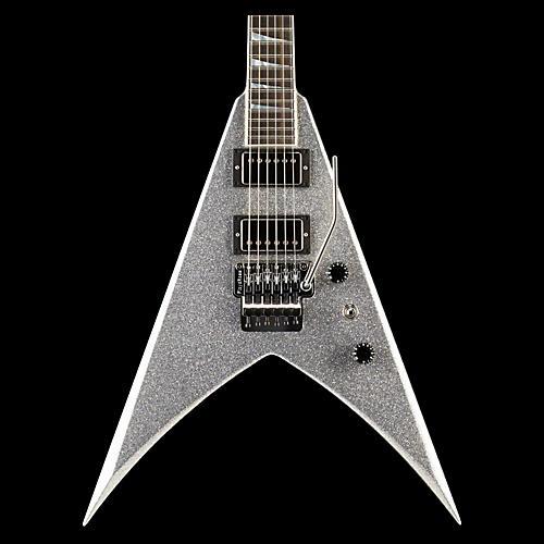 jackson custom select king v electric guitar silver sparkle guitar center. Black Bedroom Furniture Sets. Home Design Ideas