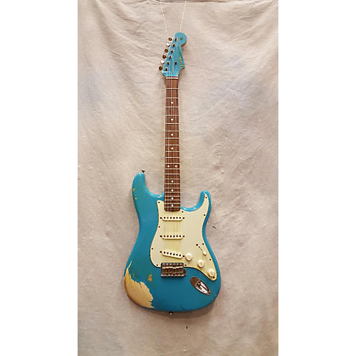 Fender Custom Shop 1962 Stratocaster Ash Relic Solid Body Electric Guitar-thumbnail