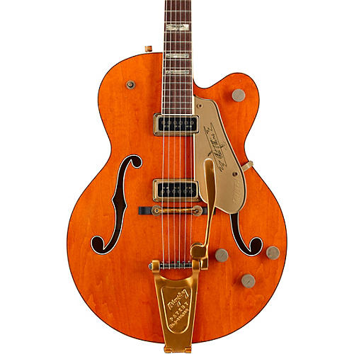 Gretsch Guitars Custom Shop 6120 DSW '55 Relic Electric Guitar Orange