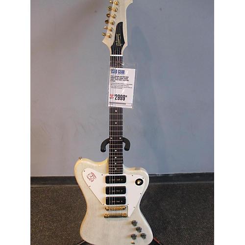 Gibson Custom Shop Firebird Nr-frbrd Solid Body Electric Guitar Trans White