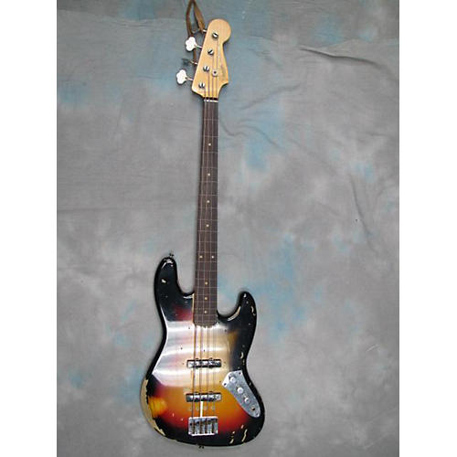 Fender Custom Shop Jaco Pastorius Signature Relic Jazz Bass Fretless Electric Bass Guitar
