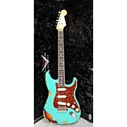 Fender Custom Shop Limited Edition 60'S Stratocaster Bound Neck Relic Solid Body Electric Guitar