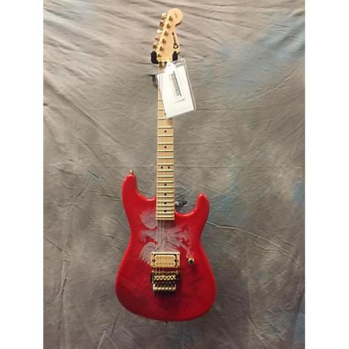 Charvel Custom Shop San Dimas Polish Flag Solid Body Electric Guitar-thumbnail