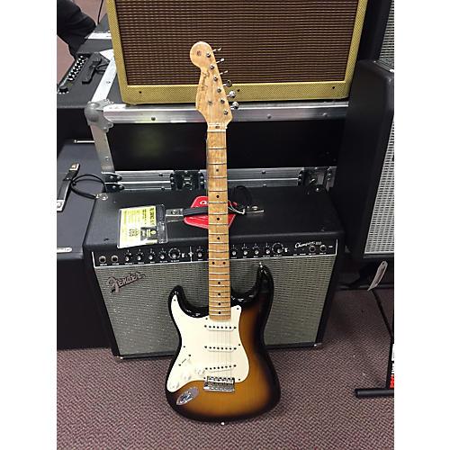 Fender Custom Shop Stratocaster Left Handed Electric Guitar 2 Tone Sunburst