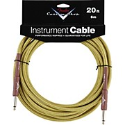 Fender Custom Shop Tweed Cable (Straight-Straight Angle)