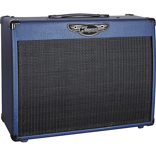 Traynor Custom Valve 50BLUE YCV50BLUE 50W All Tube 1x12 Combo Amp with Celestion Speaker-thumbnail