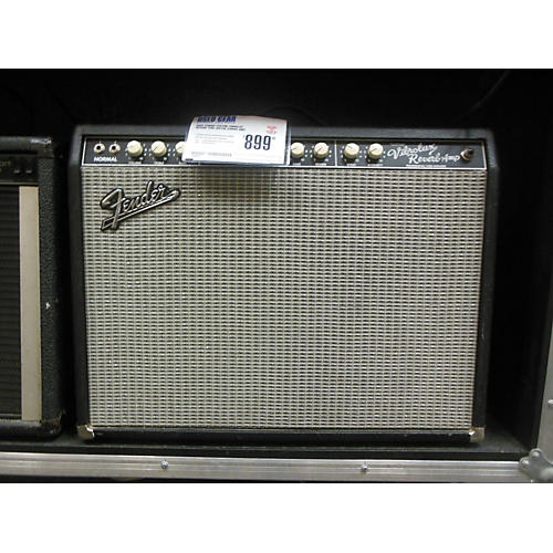 Fender Custom Vibrolux Reverb Tube Guitar Combo Amp-thumbnail
