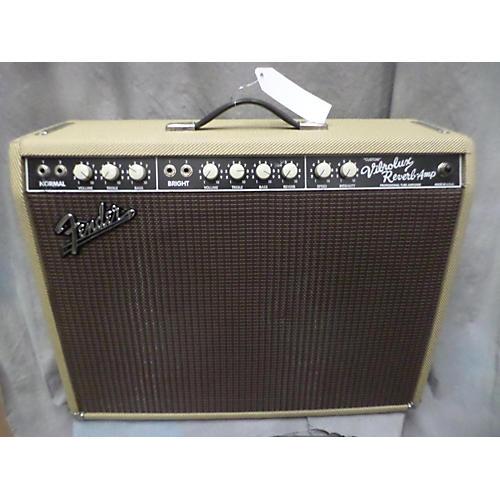 Fender Custom Vibrolux Reverb Tube Guitar Combo Amp tweed