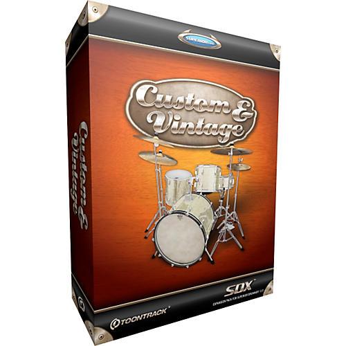 Toontrack Custom & Vintage SDX Drum Library for Superior Drummer-thumbnail