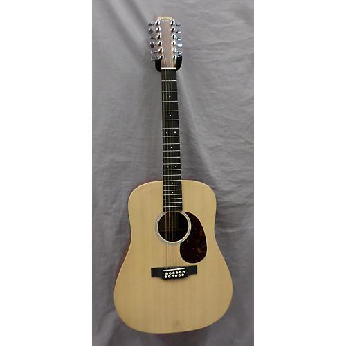 Martin Custom X Series 12 String Acoustic Electric Guitar Natural